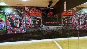 studio wall small