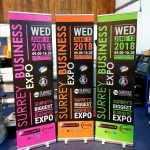 600mm Roller Banners in Surrey
