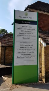 Totem Sign Dibond in Surrey