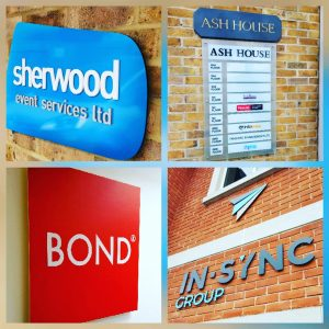 Acrylic Office Signs in Surrey