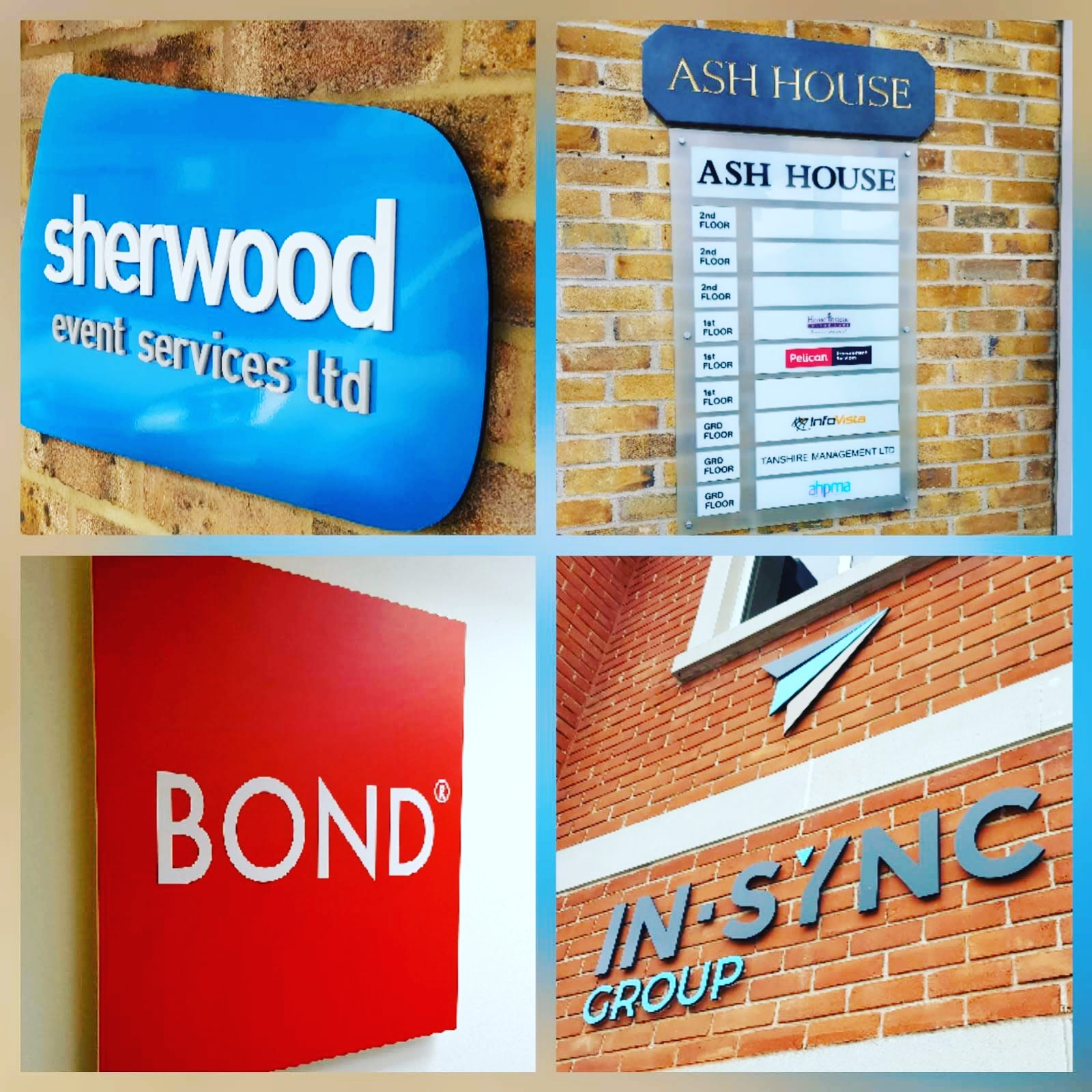 Shop and Office Sign Printing in Guildford and Surrey