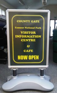 A-board printing in West Sussex