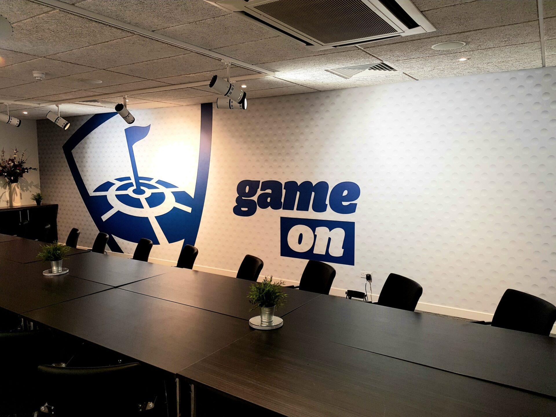 Meeting room graphics Surrey