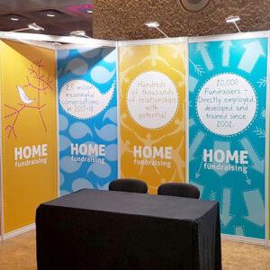 Exhibition schell scheme and foamex boards