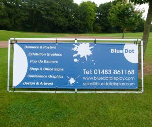 PVC banner and frame by Bluedot Display